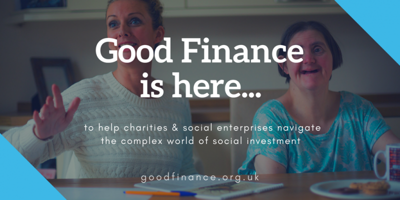Good finance is here